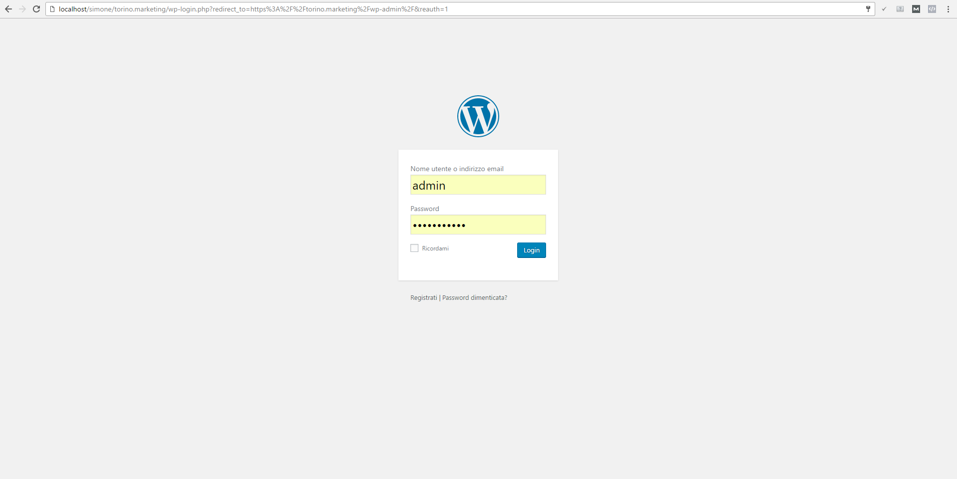 problema wordpress multisite errore reindirizzamento loop